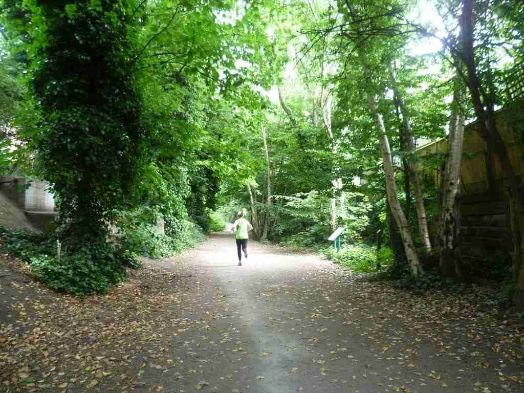 Parkland Walk near Muswell Hill Road
