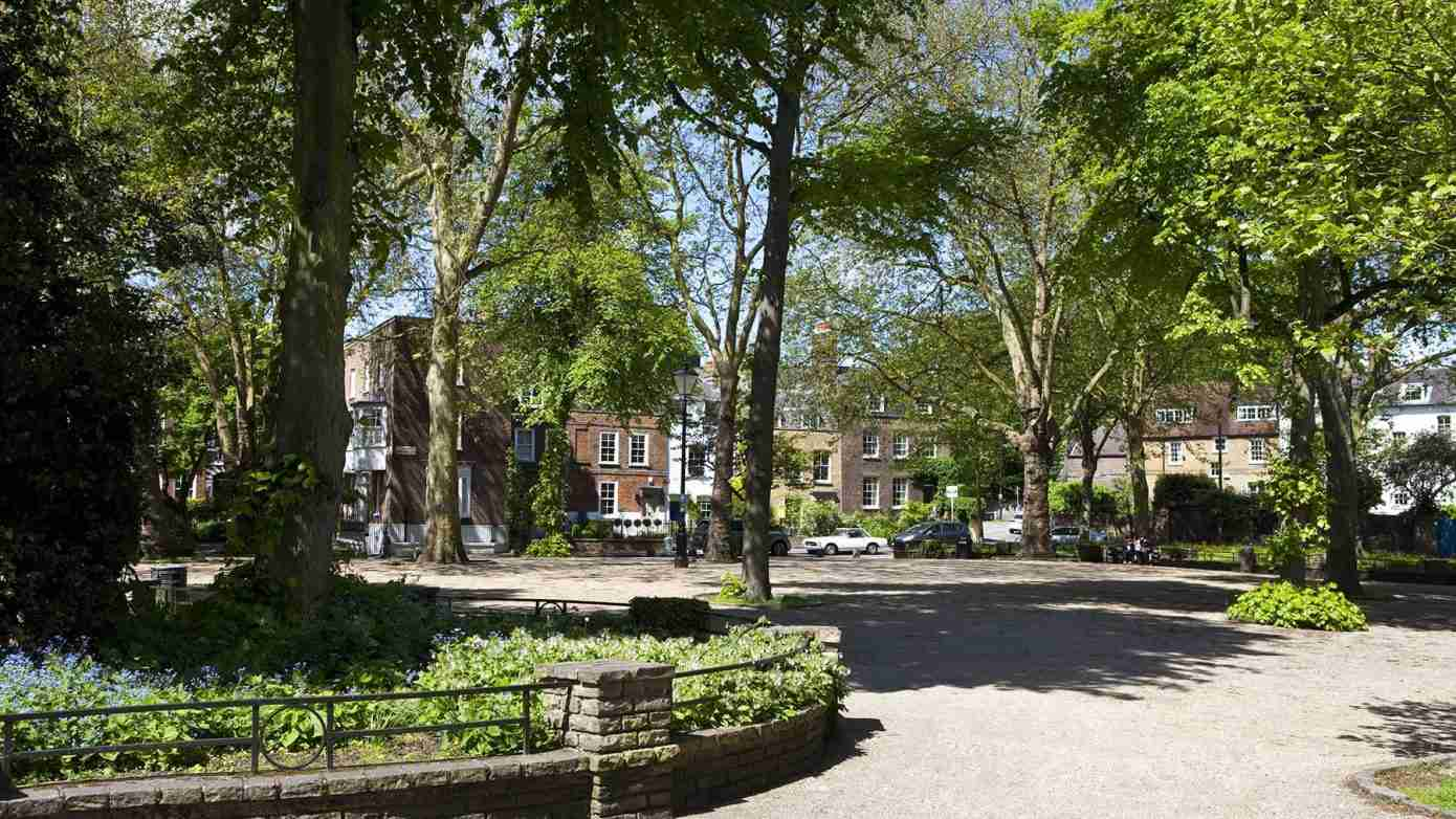 Pond Square in Highgate London