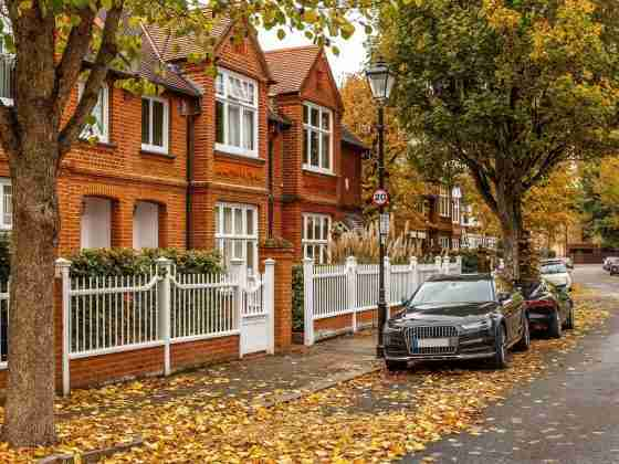 North London in Autumn